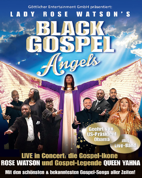 BLACK GOSPEL ANGELS 2018