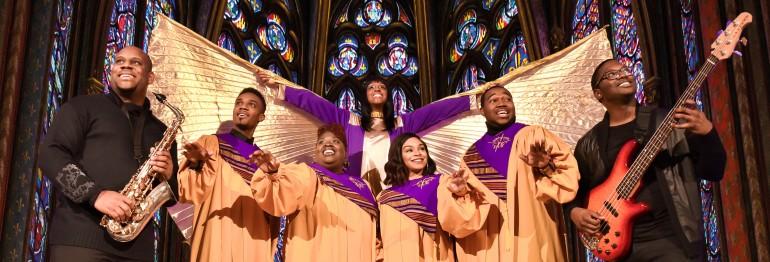 <b>T I C K E T S – THE BLACK GOSPEL ANGELS</b><br />mit Gospel-Legende Queen Yahna &#038; Gospel-Ikone Rose Watson <br />